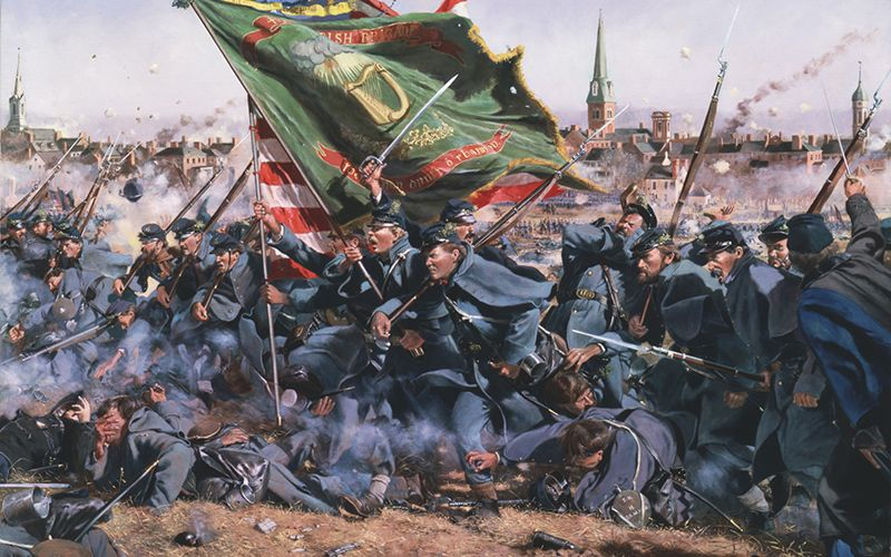The 69th Irish Brigade
